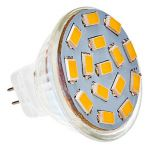 LED G4-MR11-spot - 3W - 10-30V - 3000K - 240Lm | MP060017 QUALEDY® G4