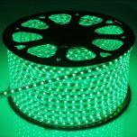 LED Strip 230V - Groen - 60xSMD5050/m - IP66 | MP210039B QUALEDY®