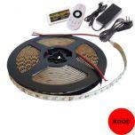 LED Strip 24V - Rood - 9,6W/m - 600 SMD3528 - 5 meter - IP20 - Set | MP210063B QUALEDY® G53