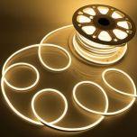Neon LED Flex 230V - Warm wit - 6W/m - 120LED/m - 8x16mm - IP67 | MP210111B QUALEDY®  201-300 Lm