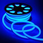 Neon LED Flex 230V - Blauw - 6W/m - 120LED/m - 8x16mm - IP67 | MP210112B QUALEDY®  201-300 Lm