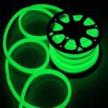 Neon LED Flex 230V - Groen - 6W/m - 120LED/m - 8x16mm - IP67 | MP210113B QUALEDY®  201-300 Lm