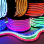 Neon LED Flex 230V - RGB - 10W/m - 72LED/m - 14x26mm - IP67 | MP210115B QUALEDY®  101-200 Lm