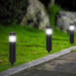LED Solar Tuinlamp - Rond - Colonna - 6500K | MP980013 Aigostar  < 100 Lm