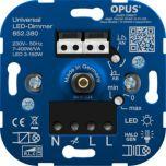 LED Inbouwdimmer - 7-400W - Faseaansnijding / Faseafsnijding | MP990148 OPUS