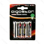 Alkaline batterijen AA - LR6 - 1,5 Volt - Blister 4 stuks