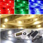 LED Strip 12V - RGBWW - 14,4W/m - 300 SMD5050 - 5 meter - IP66 - Set | MP210006B QUALEDY®