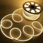 Neon LED Flex 230V - Warm wit - 6W/m - 120LED/m - 8x16mm - IP67