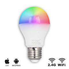 Smart LED E27 lamp - 6W - RGBW - WiFi/RF | MP012708 MiBoxer/Milight E27 > 500 Lm
