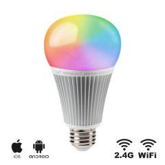 Smart LED E27 lamp - 9W - RGB/CCT - WiFi/RF | MP012709  E27