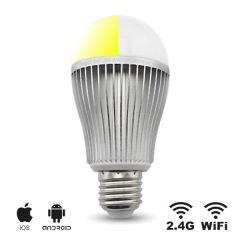 Smart LED E27 lamp - 9W - Dual White - WiFi/RF | MP012711 MiBoxer/Milight E27 > 500 Lm