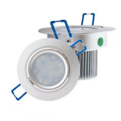 LED Set 2-Inbouwspots - 3*3W - Dimbaar - Gratis Trafo
