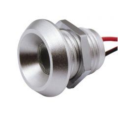 LED Set van 6 Inbouwspots - 2W - Chroom - 3000K - Dimbaar - Gratis Trafo