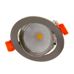 LED Inbouwspot Slimfit - 5 Watt - 2700K - 450Lm - RVS-look