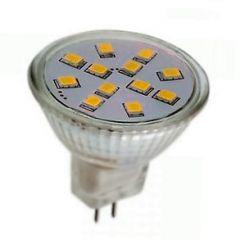 LED G4/MR11-spot - 2W - 12SMD - 3000K - 150Lm | MP060009 QUALEDY® G4