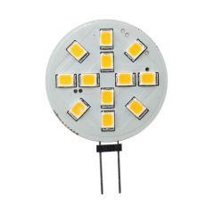 LED G4 - 2,4 Watt - 10-30 Volt - 12SMD - Sidepin - Vervangt 20W | MP060013 QUALEDY® G4