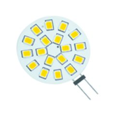 LED G4 - 3,2W - 18SMD - Sidepin (30W halogeen vervanger) | MP060018 QUALEDY® G4