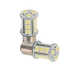 LED BAY15D - Auto - Interieurlamp - 1,8W - 10-30VDC - Blister 2 stuks