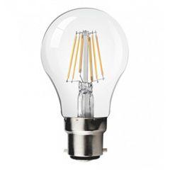 LED B22-Filament lamp - 8W - 2700K - 850Lm - Dimbaar