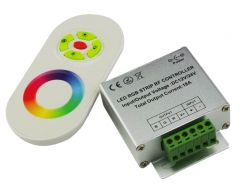 LED RGB Touch Controller (DC12-24V) + Afstandsbediening | MP210016 QUALEDY®