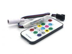 LED Digitale controller en 14 knops afstandbediening met 300 effecten