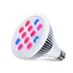 LED Kweeklamp - E27 - 12W - Red9/Blue3