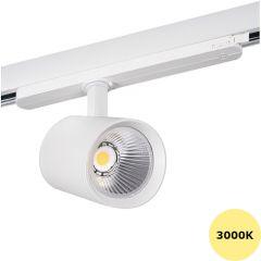 LED Railspot ACORD - 30W - 3000K - 2850Lm - 60° - Wit | MP150037W Kanlux  > 500 Lm