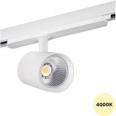 LED Railspot ACORD - 30W - 4000K - 3000Lm - 60° - Wit | MP150038W Kanlux  > 500 Lm