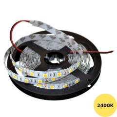 LED Strip 12V - 2400K - 14,4W/m - 300 SMD5050 - 5m - IP65 | MP210004 QUALEDY®  > 500 Lm