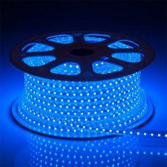LED Strip 230V - Blauw - 60xSMD5050/m - IP66