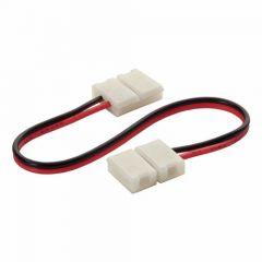 LED Strip 12/24V - Single Color - Koppelkabel - Clip-Clip - 8mm