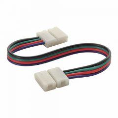 LED Strip 12/24V - RGB - Koppelkabel - Clip-Clip - 10mm