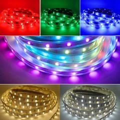 LED Strip 24V - Digitale RGB+CCT (5-in-1) - 15W/m - 240 SMD5050 - 5 meter - IP65