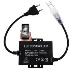 LED Strip Dimmer - 230V - Single Color - App-Bluetooth - 6A - 720W | MP210054 QUALEDY®