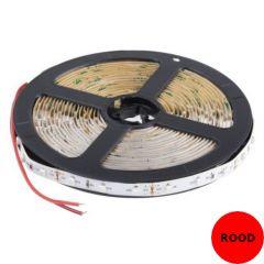 LED Strip - Rood - 14,4W/m - SMD5050 - DC24V - 5m - IP20 - open wire | MP210062 QUALEDY®