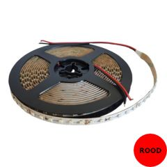 LED Strip - Rood - 9,6W/m - SMD3528 - DC24V - 5m - IP20 - open wire | MP210063 QUALEDY® G53
