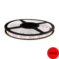 LED Strip 12V - Rood - 9,6W/m - 600 SMD3528 - 5 meter - IP65 | MP210127 QUALEDY®  201-300 Lm