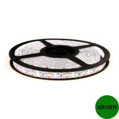 LED Strip 12V - Groen - 9,6W/m - 600 SMD3528 - 5 meter - IP65 | MP210128 QUALEDY®