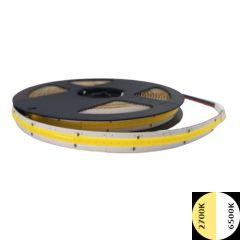 COB LED Strip 24V - CCT - 2700K-6500K - 576LED/m - 22W/m - 5m - IP20 | MP210131 QUALEDY®