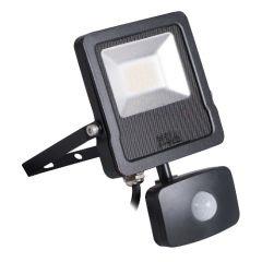 LED Breedstraler met bewegingssensor - Antos - 10W - 4000K - IP44 - Vervangt 75W