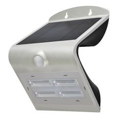 LED Buitenlamp Solar met bewegingssensor - 3000K - 400Lm - IP65