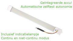 LED Noodverlichting - Vervangt T5 - G5 - 5W - 30cm (230VAC) - 4K- Mat - 120° - SE - Accu-Indicatielamp-Zelftest