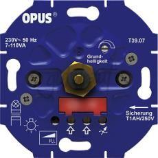 Inbouwdimmer (voor LED- en spaarlampen-faseaansnijding) | MP990022 OPUS