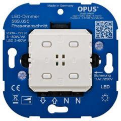 LED BRiDGE Dimmer (fase-aansnijding) - 3-60W/VA - Smart Home | MP990128 OPUS