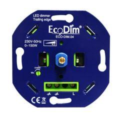 LED Dimmer 230V - Fase afsnijding - Inbouw - 0-150W | MP990161 EcoDim