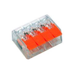 Lasklem 4 x 0,14-4mm² Cu - Flexibele en massieve draden