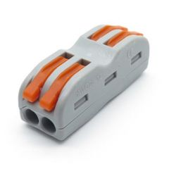 Lasklem 2x2 x 0,08-2,5/4mm² Cu - Flexibele en massieve draden   MP990173 QUALEDY®