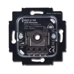 Busch-Jaeger LED Dimmer - 6523 U-102 - 2-100W - Fase aansnijding | MP990193 Busch-Jaeger